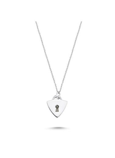 LUXO Diamond Pırlanta Kolye Beyaz